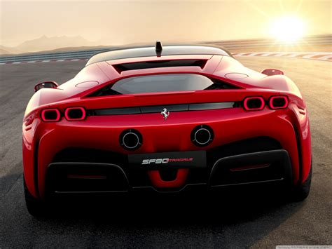 2019 sf90 stradale hybrid sports car 4k hd desktop wallpaper for 4k ultra hd wide