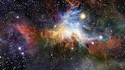 Starry Galaxy Sky Trippy Night Universe Close