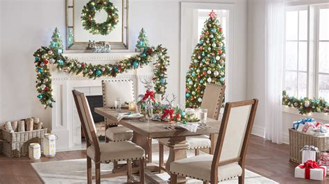 mantel christmas decorations  martha stewart