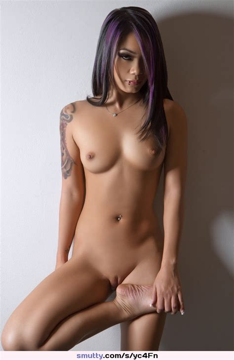 Sexybeautifulgorgeouscolouredhairnudesmalltitstitsshavedpussypiercedtattoo
