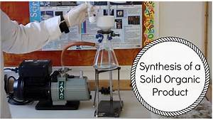 Synthesis Of A Solid Organic Product  Aspirin