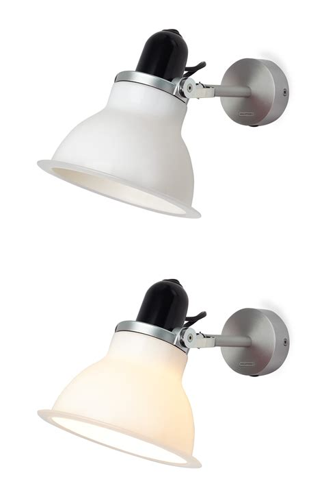 type 1228 wall light wall l white by anglepoise