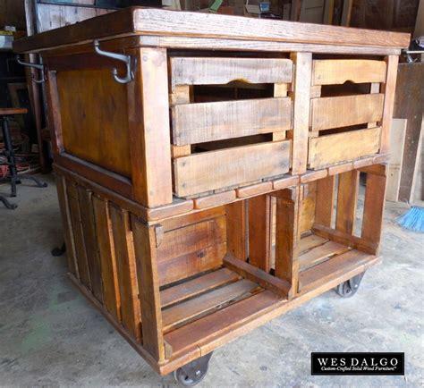 pallet kitchen island 21 best images about crates on kitchen island 1406