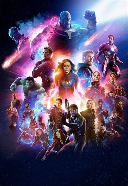Avengers Endgame Marvel Wallpapers Studios Infinity Cave