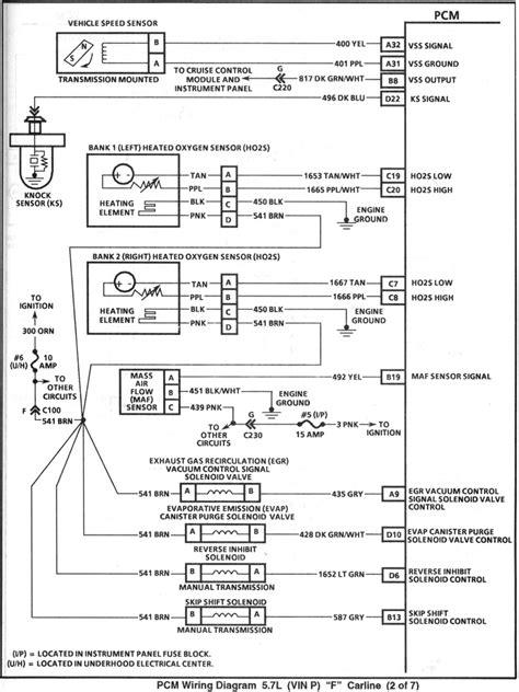 Camaro Sensor Wiring Diagram Right Hand Side