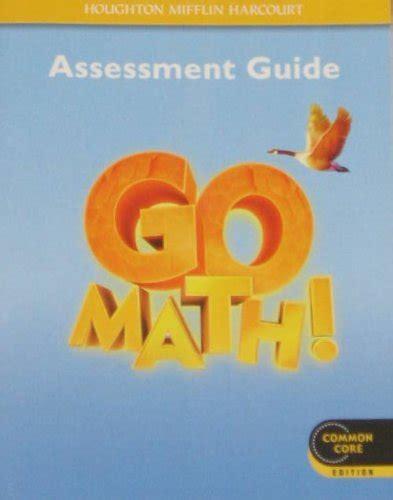 9780547586861 Go Math! Assessment Guide Grade 4 By Houghton Mifflin Harcourt
