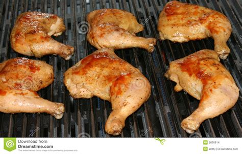 how to grill chicken leg quarters grilling chicken leg quarters stock images image 2650914