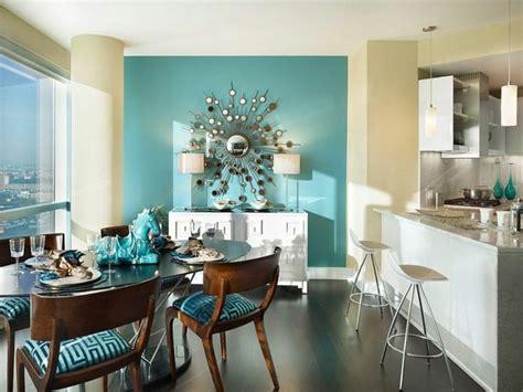 decoracion de interiores  color azul en comedores