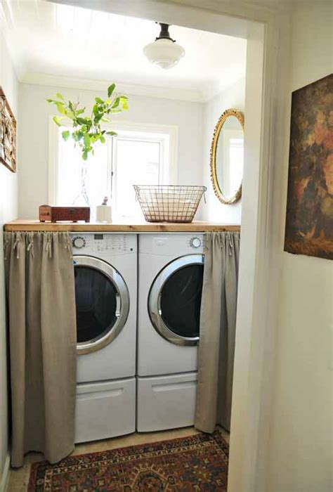 laundry room curtains 25 small laundry room ideas home stories a to z