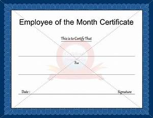 17 best images about business certificate templates on With employee of the month certificate template with picture