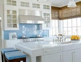 Light Blue Kitchen Backsplash Spruce Up A Plain Bathroom Or Kitchen Backsplash With Glass Subway Tile Subway Tile Outlet