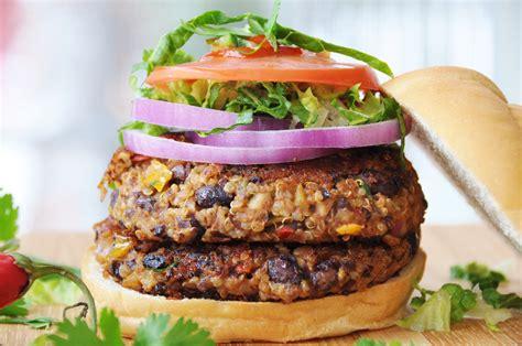 black bean burger recipe vegan vegan spicy black bean quinoa burger veganosity