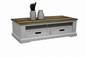 Table Basse Blanc Bois : coventry ~ Teatrodelosmanantiales.com Idées de Décoration