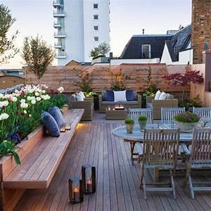 Dachterrasse Gestalten. terrasse modern gestalten ideen eine ...