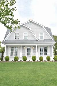 exterior paint schemes New England Homes- Exterior Paint Color Ideas - Nesting With Grace