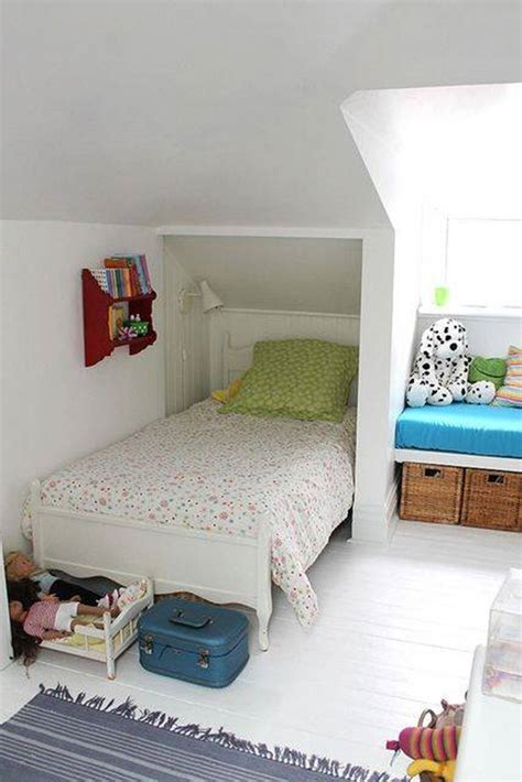 Adorable designs for an attic space