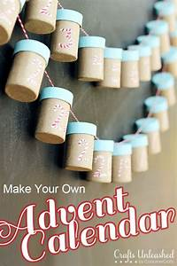 17 advent calendar activities to make tip junkie With make your own advent calendar template