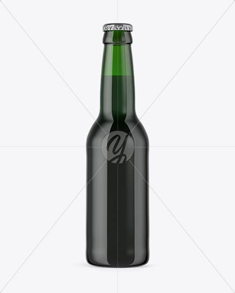 Use them in commercial designs under lifetime, perpetual & worldwide rights. 330ml Green Glass Bottle with Dark Beer Mockup in Bottle ...
