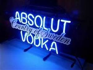 1000 images about ABSOLUT VODKA NEON LIGHT SIGN on
