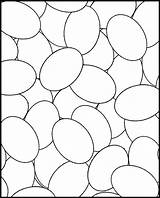 Eggs Coloring Easter Colouring Sheet Egg Pages Printable Coloriage Designs Blank sketch template