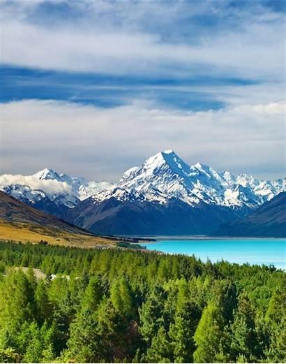 Cook Zealand Mount Mt Christchurch South Canterbury