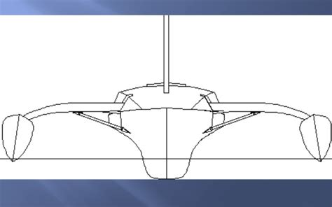 Catamaran Hull Design by Design Of A Pleasure Craft With Catamaran Hull