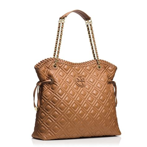 burch marion quilted slouchy tote snap n zip fashion accessories burch marion