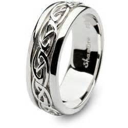 celtic engagement ring mens celtic wedding rings shm sd11