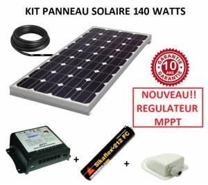 Régulateur Pour Panneau Solaire : kit panneau solaire pour camping car monocristallin ~ Medecine-chirurgie-esthetiques.com Avis de Voitures