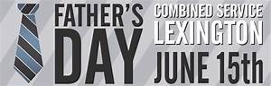 Father's Day Combined Service   Ashland Events