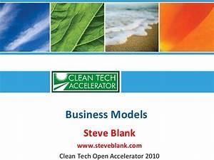 Business plans versus business models - 2010