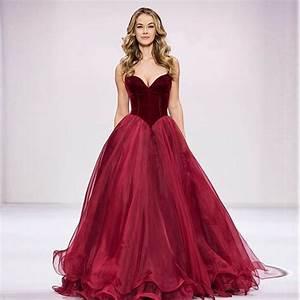 2017 new simple burgundy vintage wedding dresses basque With burgundy wedding dresses gowns new