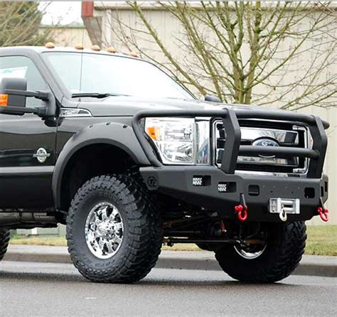 trail ready  winch front bumper  full guard ford