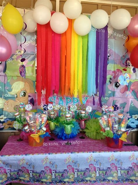 decoration birthday my pony birthday decorations for my