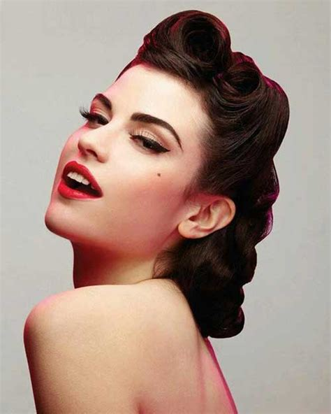 retro styles for hair 25 pin up hairstyles for hair hairstyles 2017