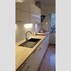Meine Neue Küche Arbeitsplatte In Apfelbaum, Granitspüle