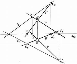 Schnittgerade Zweier Ebenen Berechnen : darstellende geometrie ebenenspuren ~ Themetempest.com Abrechnung