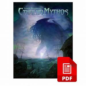 Sandy Petersen U2019s Cthulhu Mythos For 5e Pdf