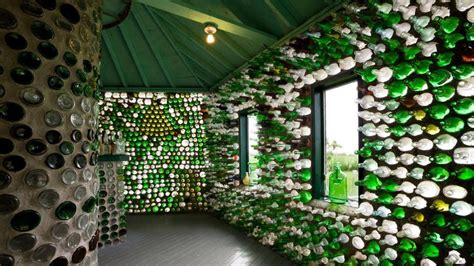 trash bins build you house with recycled materials ierek