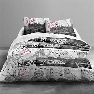 Housse de couette ado adolescent linge de lit housse for Amenagement chambre ado avec housse de couette ado 2 personnes