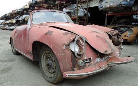 Junkyard Cabriolet: 1963 Porsche 356