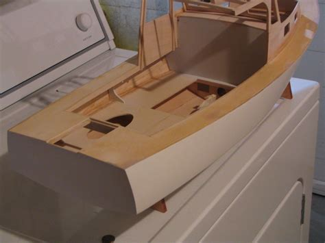 Model Boats Homemade by Steps For Building Model Boat Kit Boothbay Lobsterboat By