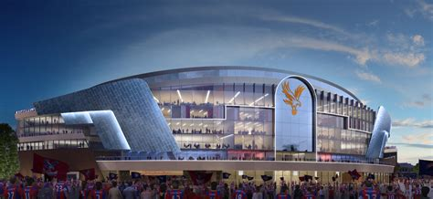 Stadium plans 'moving forward' – Palace chairman - The ...
