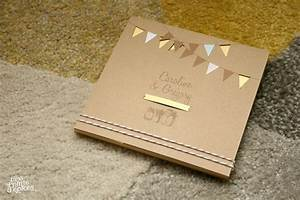 faire part kraft diy