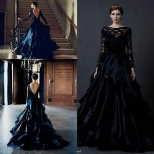 black sleeve wedding dresses black lace sleeve wedding dress naf dresses