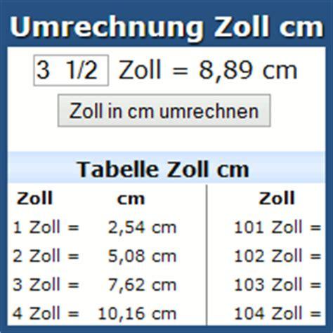 umrechnung mm  cm tracking support