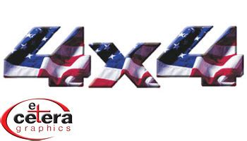 vehicle graphics car decals stickers american flag