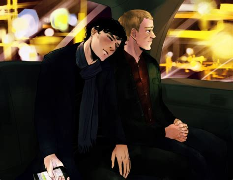 Sherlockmidnight Cab Ride By Krusca On Deviantart