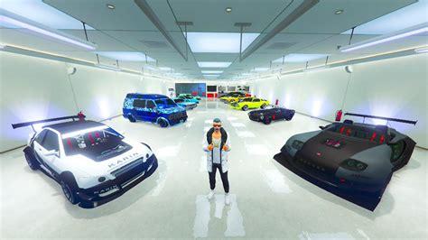 $50,000,000 40 Car Garage Tour! (gta Online Garage