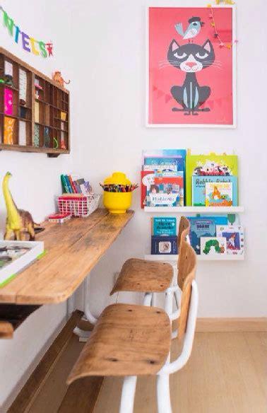 deco pour bureau bureau pour enfant déco chaise en bois de récup